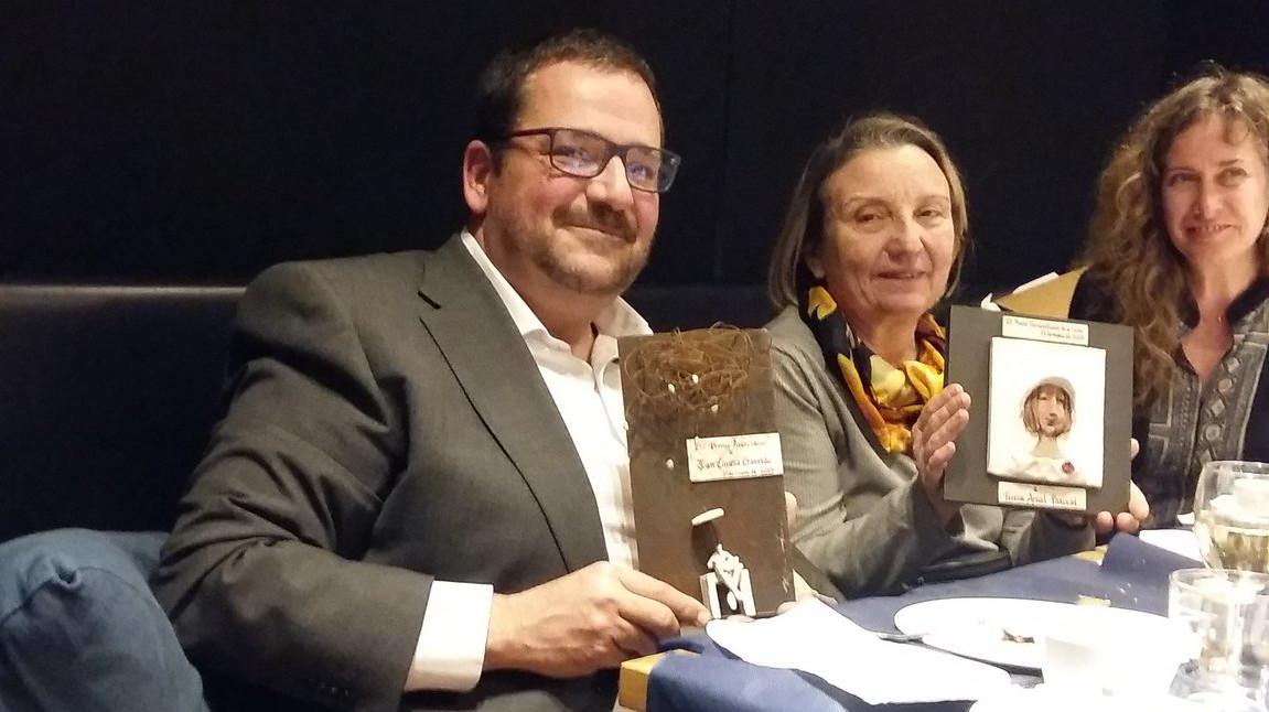 Joan Conesa, guardonat per l'Associació d'exalumnes de l'Escola Universitària d'Infermeres Santa Madrona