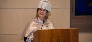 Doris Grinspun rep el reconeixement de doctora honoris causa per la Universitat de Lleida