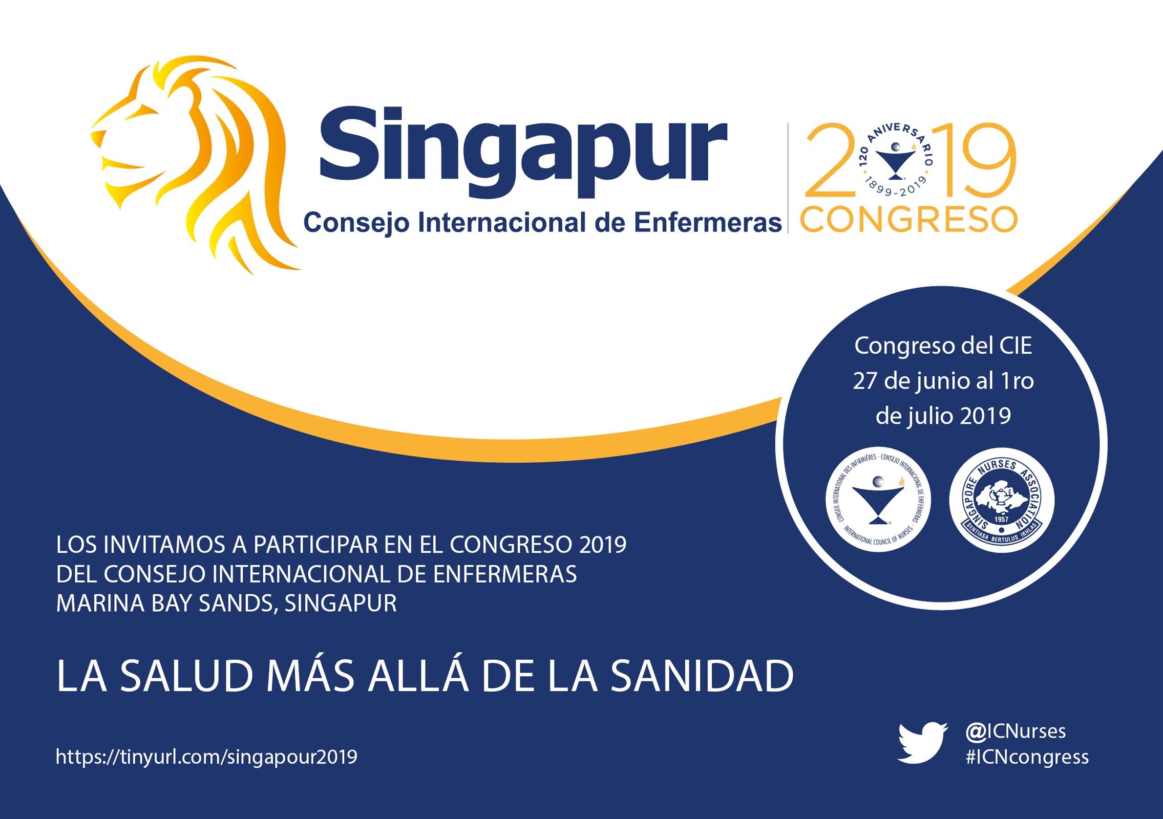 Singapur acollirà el Congrés Internacional d'Infermeres 2019