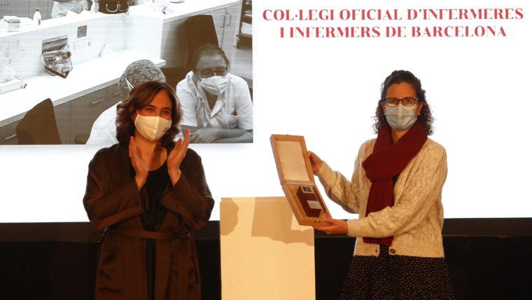L'Ajuntament de Barcelona atorga la Medalla d'Honor de la ciutat al COIB
