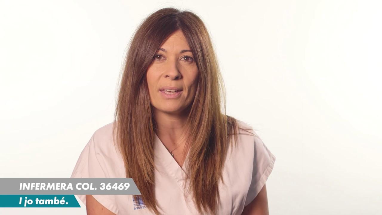 Les infermeres de Barcelona ens presentem en un vídeo adreçat a la ciutadania