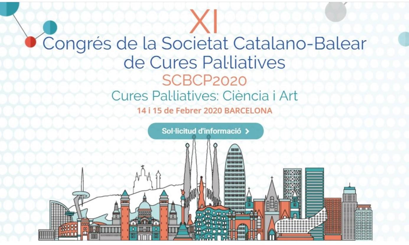 XI Congrés de la Societat Catalano-Balear de Cures Pal·liatives a Barcelona
