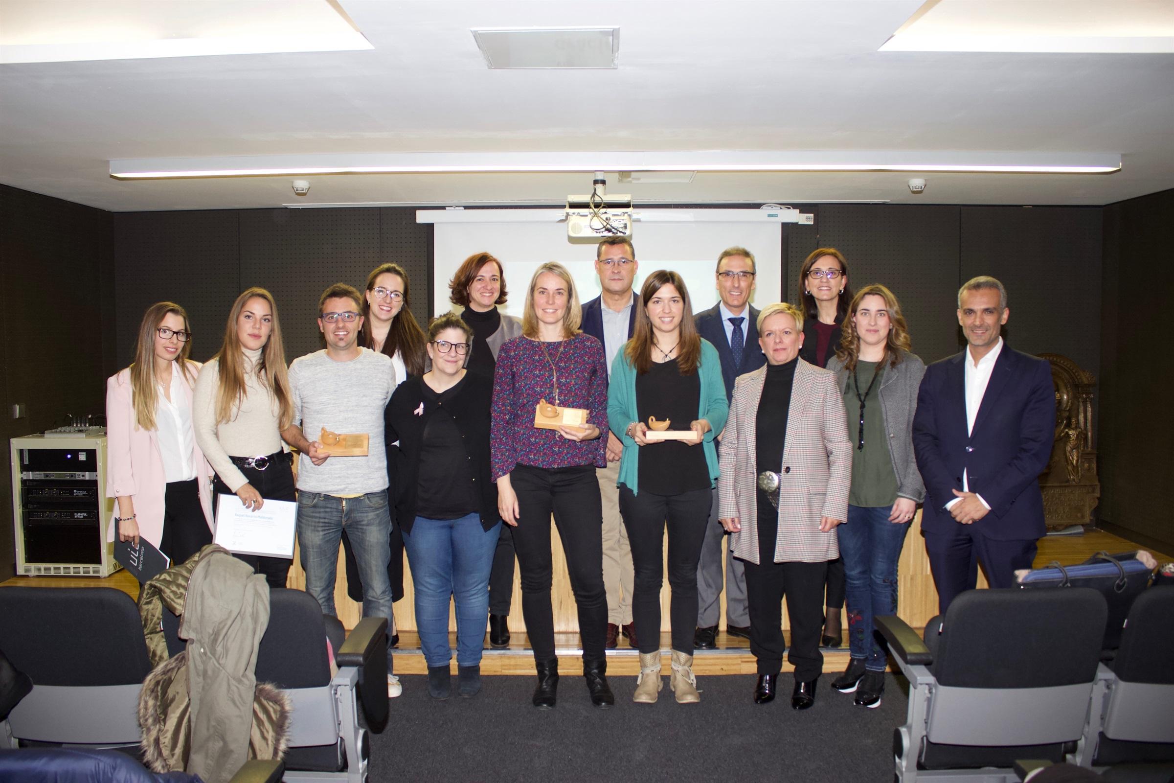 La Fundació Vila Saborit, l'Hospital Universitari Sagrat Cor i la Universitat Internacional de Catalunya (UIC) entreguen la quarta edició dels Premis de Recerca en infermeria Fundació Vila Saborit