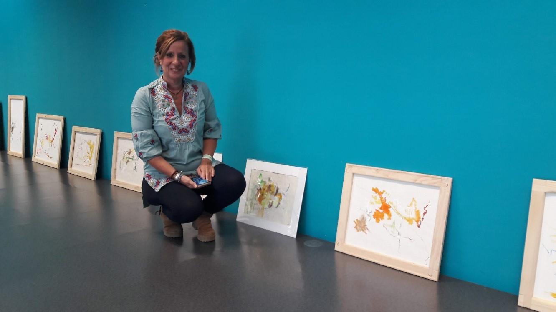 El COIB acull l'exposició de pintura de la infermera Gloria Arenas