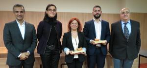 Sergio Cazorla i Pilar Fuster guardonats amb el I Premis de Recerca en Infermeria Fundació Vila Saborit