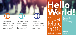 """Els infermers experts en Apps del COIB participen en la jornada """"Hello World"""" de la Fundació TIC Salut Social"""