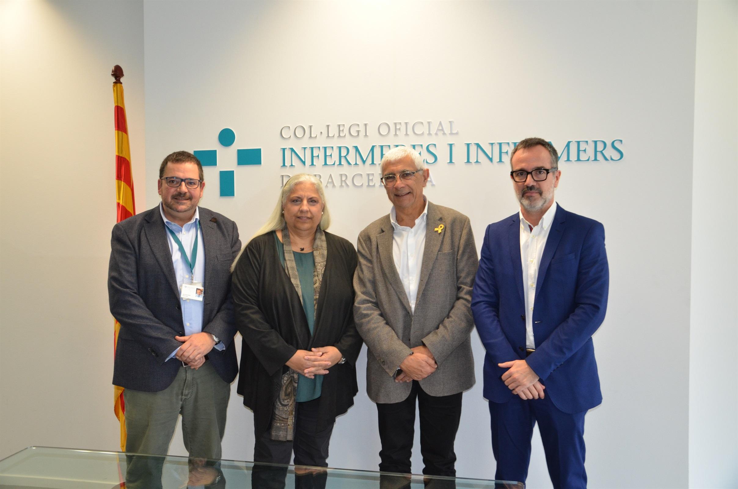 El COIB formalitza la col·laboració amb el CIMTI per consolidar un grup d'infermeres referents per a l'avaluació i mentoratge de projectes en l'àmbit de la salut