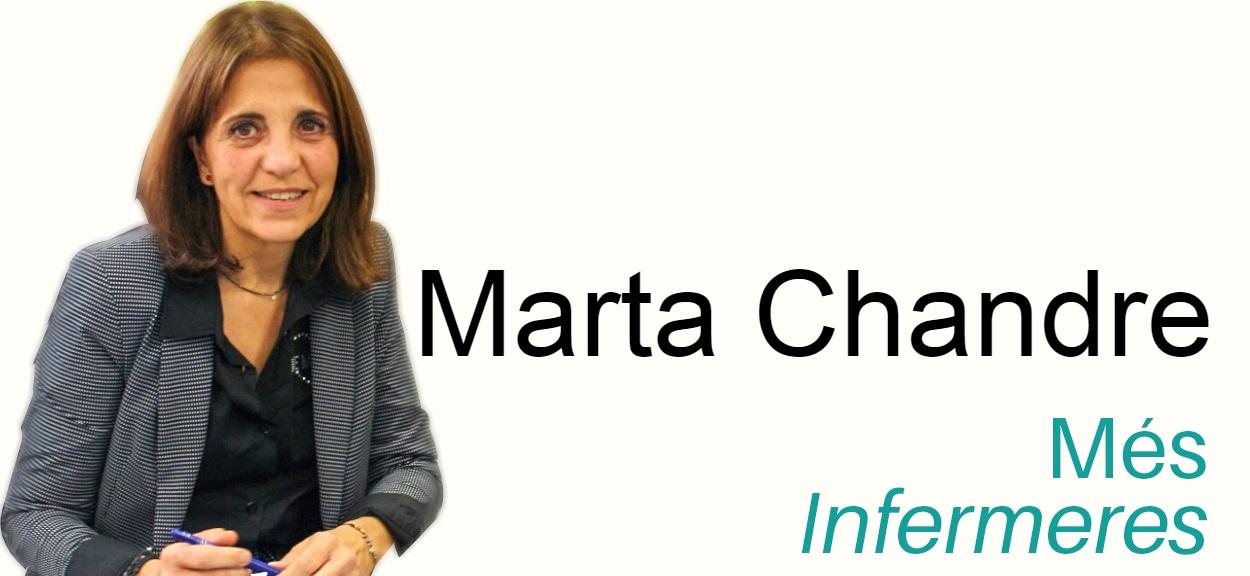 """Marta Chandre: """"tenim una sanitat pública de moltíssima qualitat, en bona part gràcies als nostres professionals"""""""