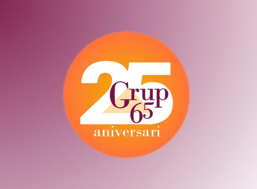 Activitats per celebrar els 25 anys del Grup 65