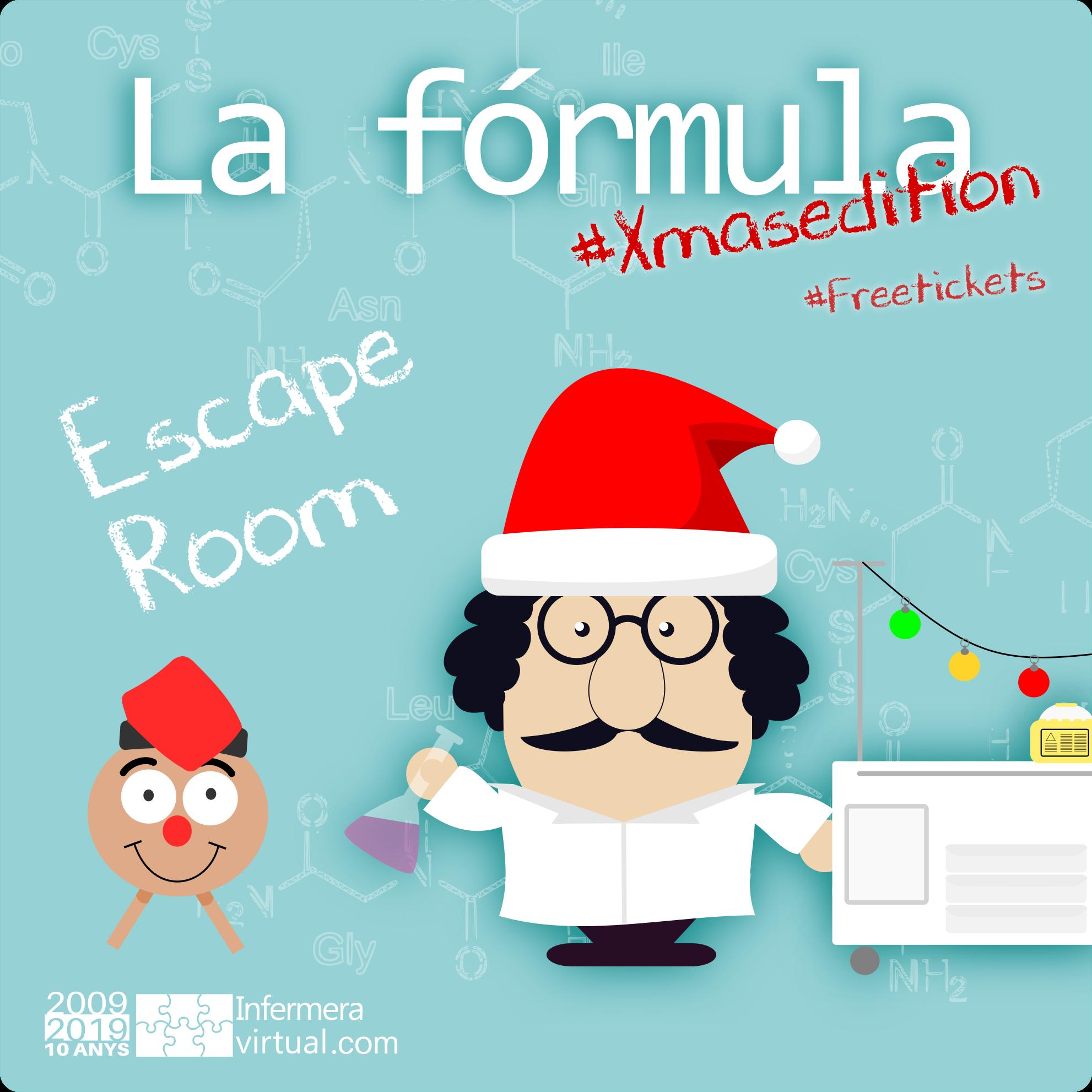 """Escape Box """"La fórmula"""" - Edició especial per Nadal"""