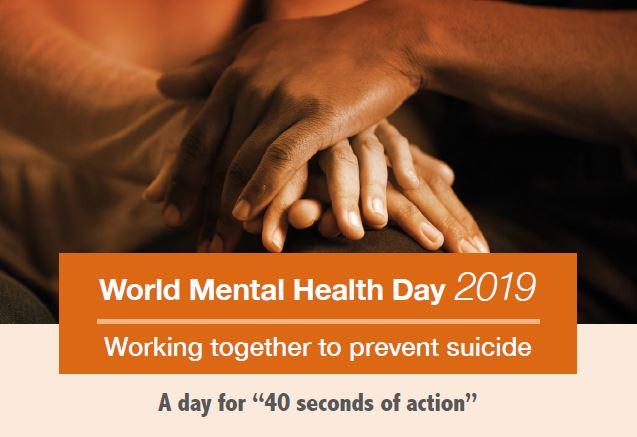 La prevenció del suïcidi centra la celebració del Dia Mundial de la Salut Mental