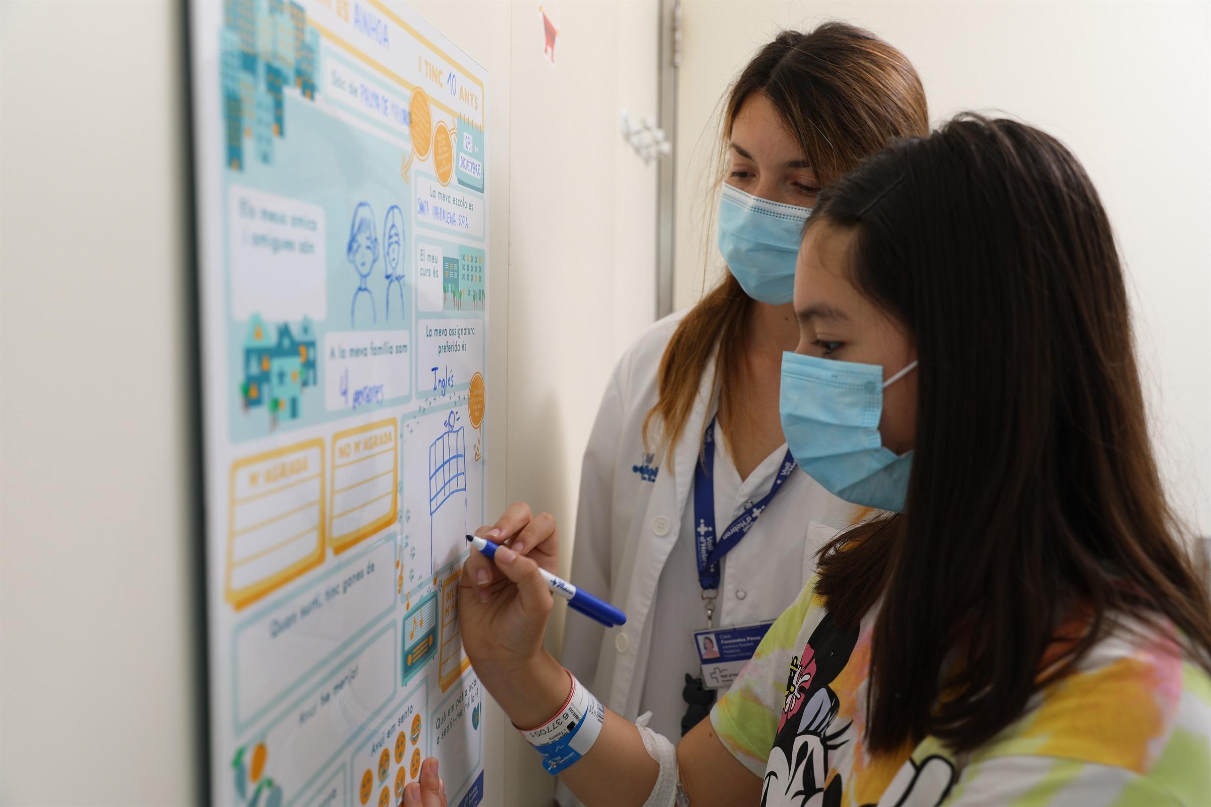 L'Hospital de la Vall d'Hebron implementa una iniciativa infermera per humanitzar l'estada hospitalària dels infants