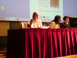 Isabel Llimargas al congrés de Valladolid