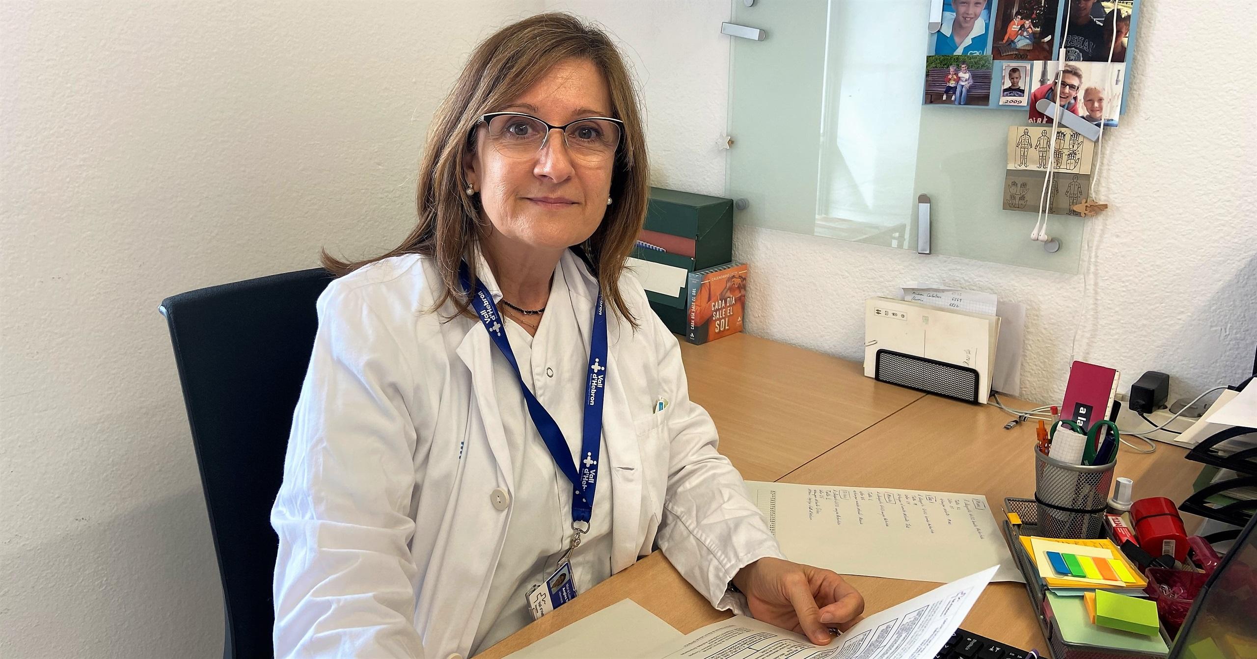 """Marisa Anglès: """"Les infermeres de salut laboral ens hem de saber vendre"""""""