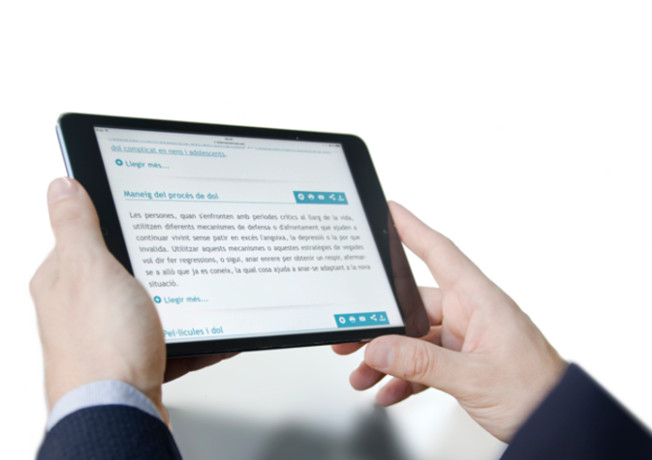 Infermera virtual proporciona continguts de salut al primer curs gratuït en línia a Espanya per aprendre a cuidar-se