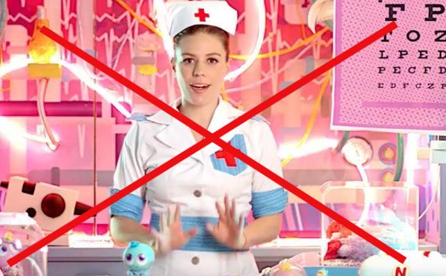 El COIB demana la retirada de la promoció d'una joguina que perpetua estereotips de gènere i de la professió infermera