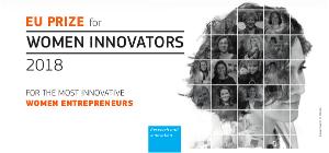 El Premi europeu per a dones innovadores 2018 reconeix l'excel·lència a les professionals