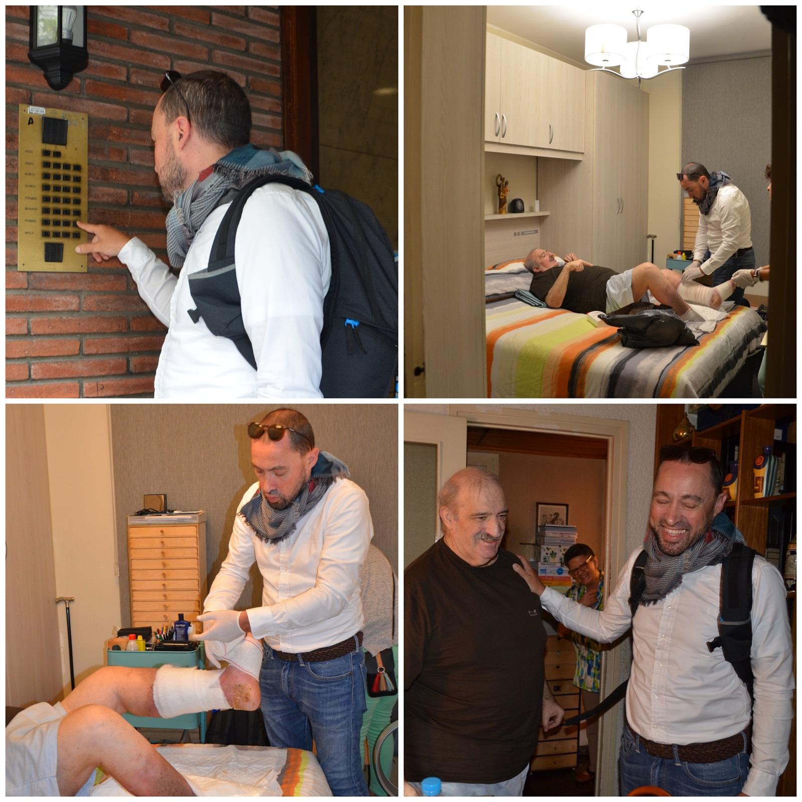 Dos infermers de Barcelona funden DUI'S, un negoci de serveis infermers a domicili