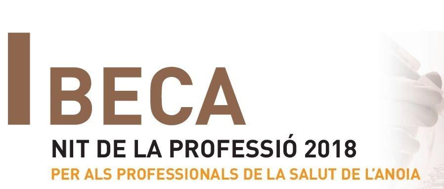 Convocada la Beca Nit de la Professió 2018 per als professionals de la salut de l'Anoia