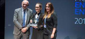 Els premis 'Enfermería en Desarrollo 2017' reconeixen el treball de la infermera Sandra Duque