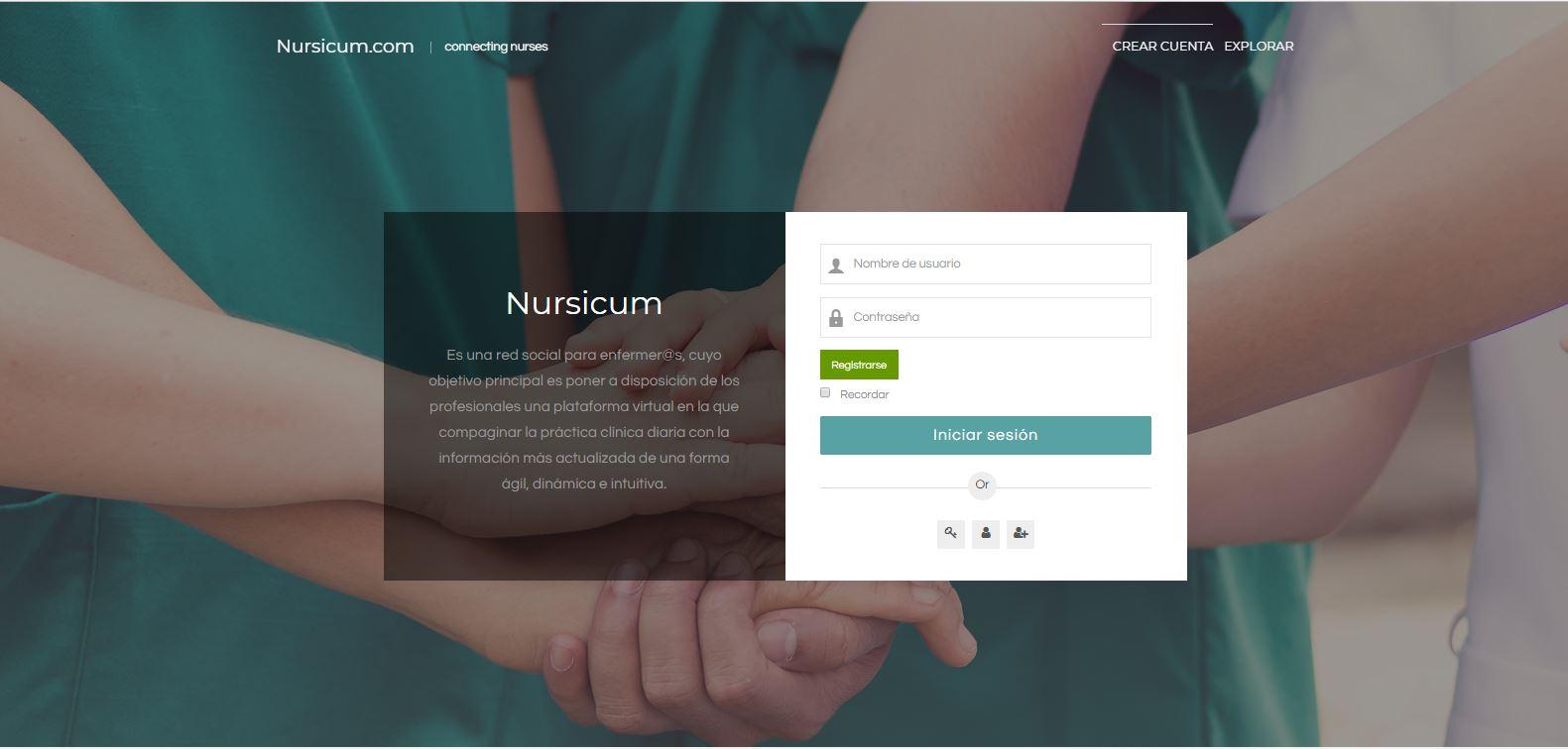 Infermeres i metges de Barcelona impulsen la plataforma digital per a infermeres Nursicum