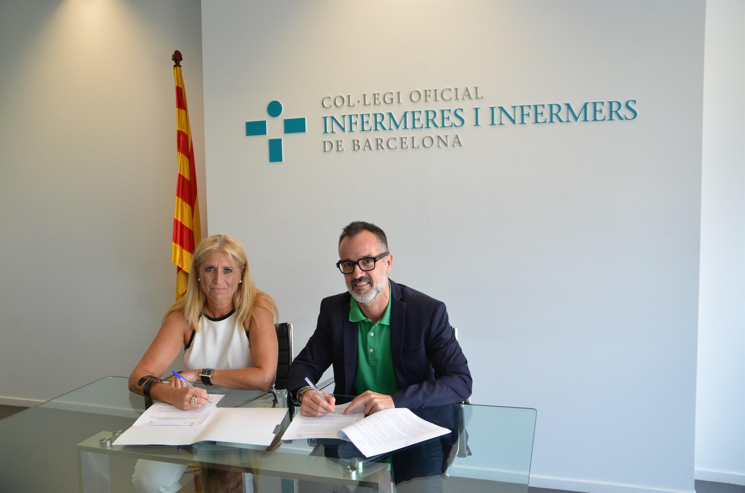 COIB i la Fundació Privada Escoles Universitàries Gimbernat uneixen forces per impulsar conjuntament la innovació en l'àmbit de la infermeria