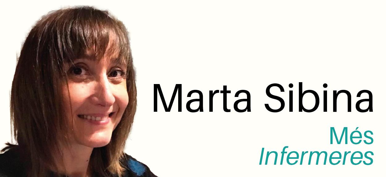 """Marta Sibina: """"Una infermera saturada difícilment trobarà espais i forces per organitzar-se i defensar la seva professió"""""""