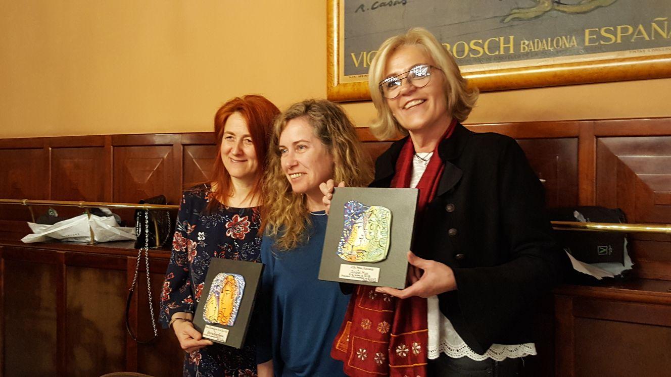 Les infermeres Isabel Mas i Encarna Gómez, guardonades amb els premis de l'Escola Universitària d'Infermeres Santa Madrona