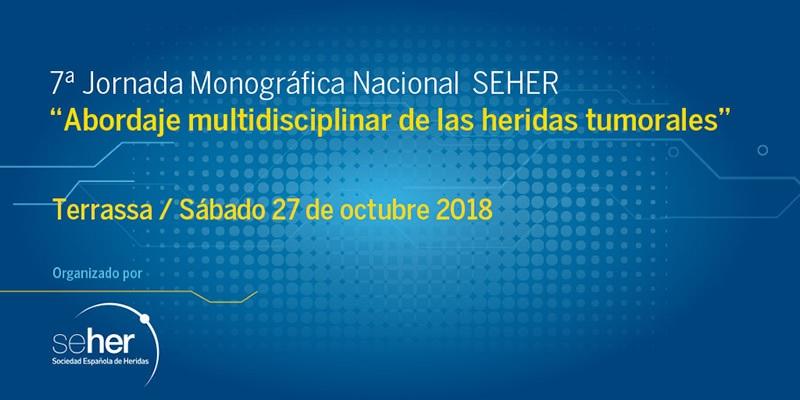 7a Jornada Monogràfica Nacional de la Sociedad Española de Heridas