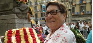 Mor Joaquima Ribot i Puig, fundadora i presidenta de l'Associació Catalana d'Infermeria