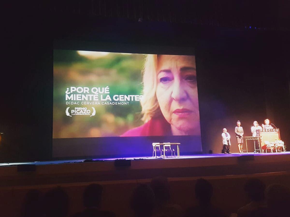 El curtmetratge «Por qué miente la gente?», guardonat al festival de cinema de Guadalajara