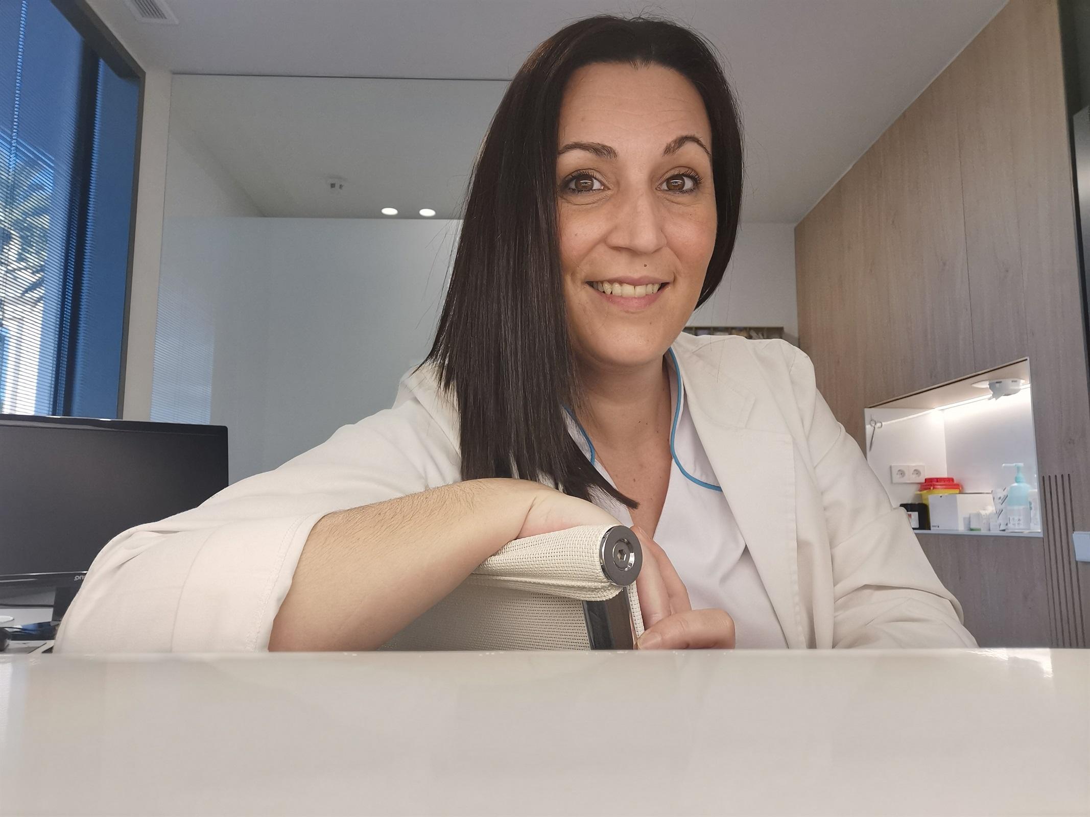 """Cristina Navalón: """"Els pacients tenen les respostes, les infermeres els ajudem a que les trobin"""""""