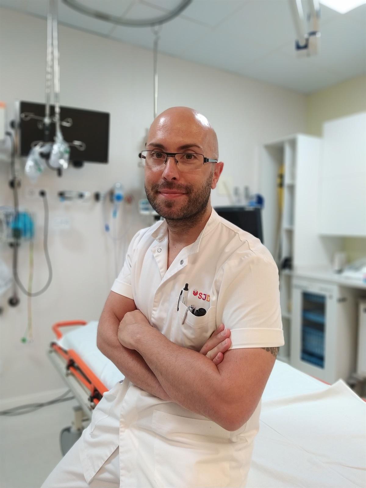 Jordi Garcia: «Amb l'estat d'alarma, les infermeres hem fet un acompanyament més intens a les famílies»