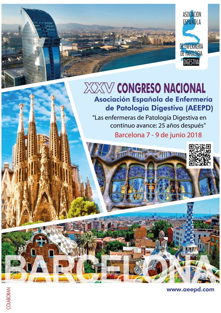 L'Asociación Española de Enfermería de Patología Digestiva celebra a Barcelona els 25 anys