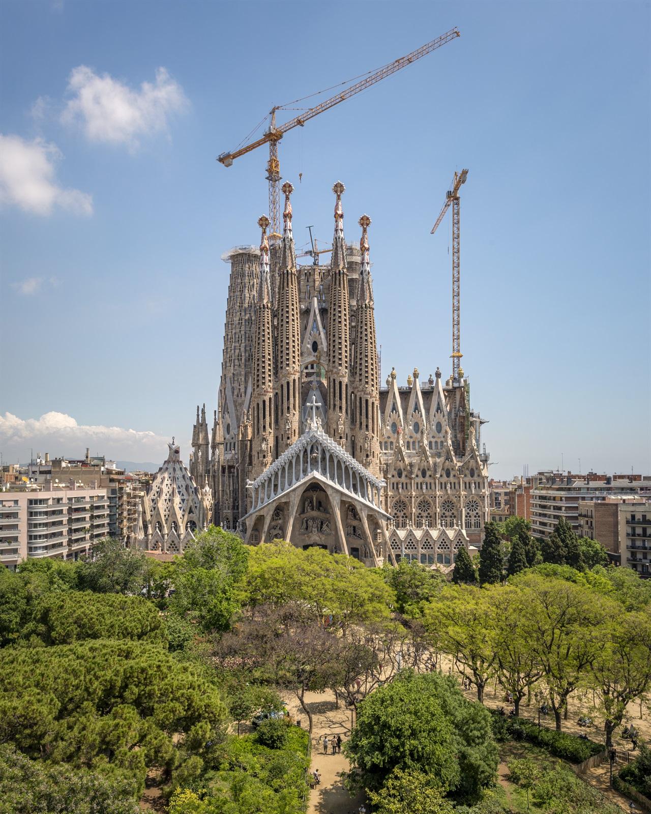 Les infermeres i els infermers de Barcelona podran visitar la Sagrada Família de forma gratuïta