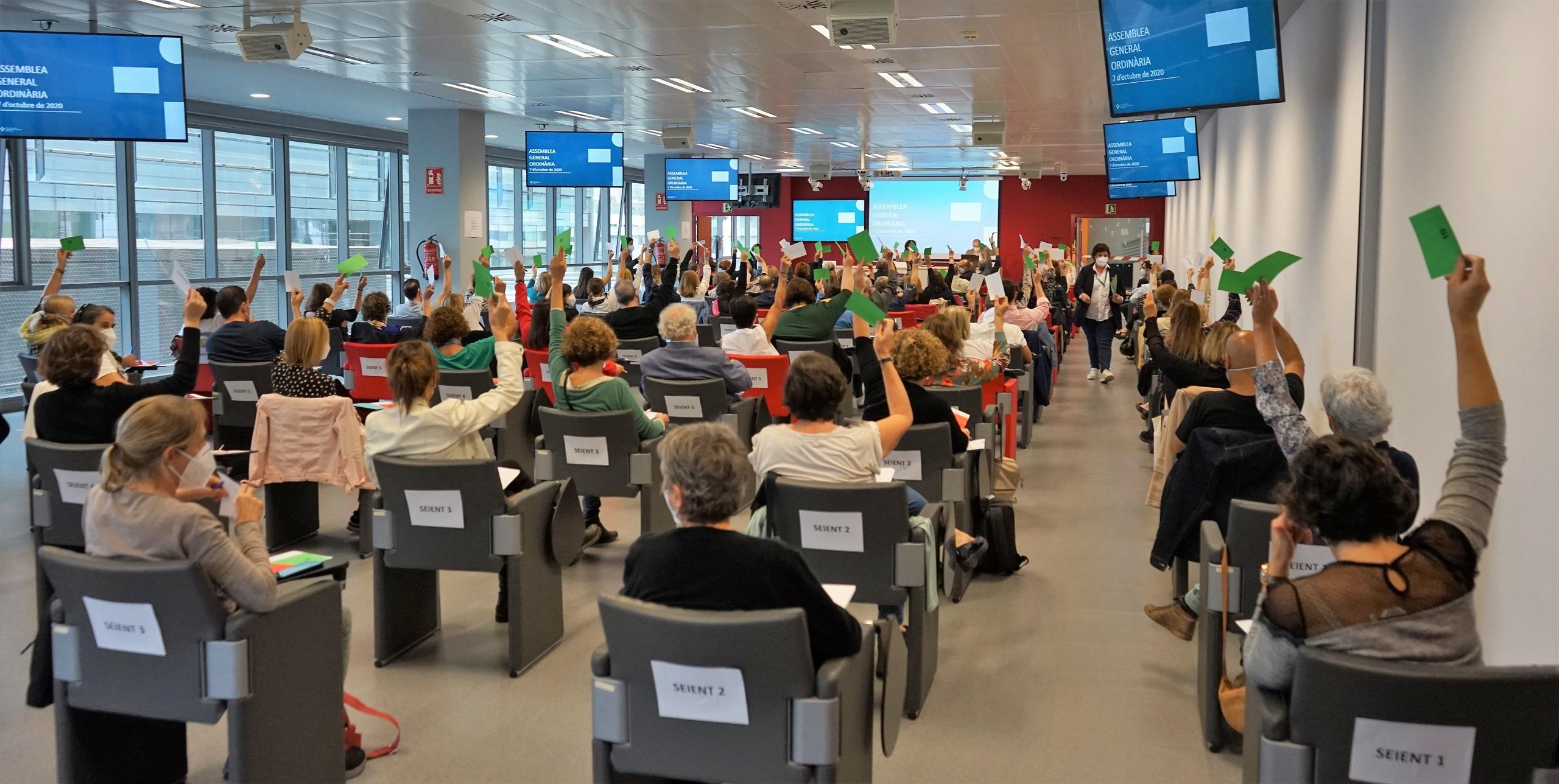 L'assemblea del COIB aprova els pressupostos del 2020 i la memòria i el tancament econòmic del 2019