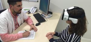 Infermeres presenten al Mobile World Congress la seva experiència amb l'ús de realitat virtual en pacients