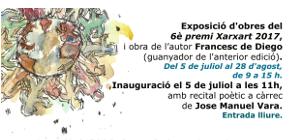 El COIB acull l'exposició d'obres del 6è Premi Xarxart del Congrés Català de Salut Mental