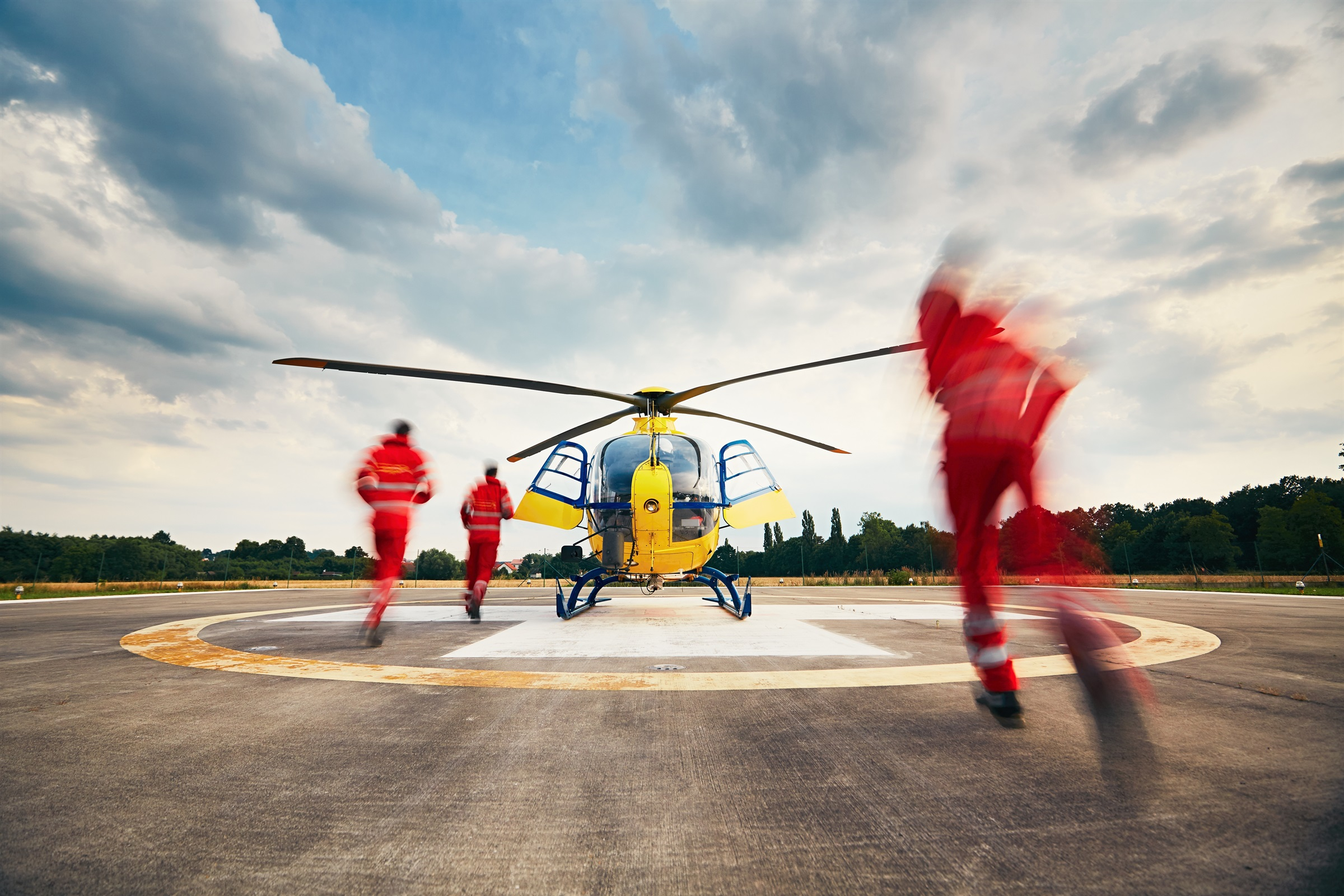 Emergency Review. Helitransport sanitari: les infermeres de l'aire