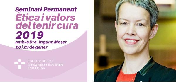 Ingunn Moser, sociòloga referent internacional en estudis de ciència i tecnologia al servei del tenir cura, visita Barcelona
