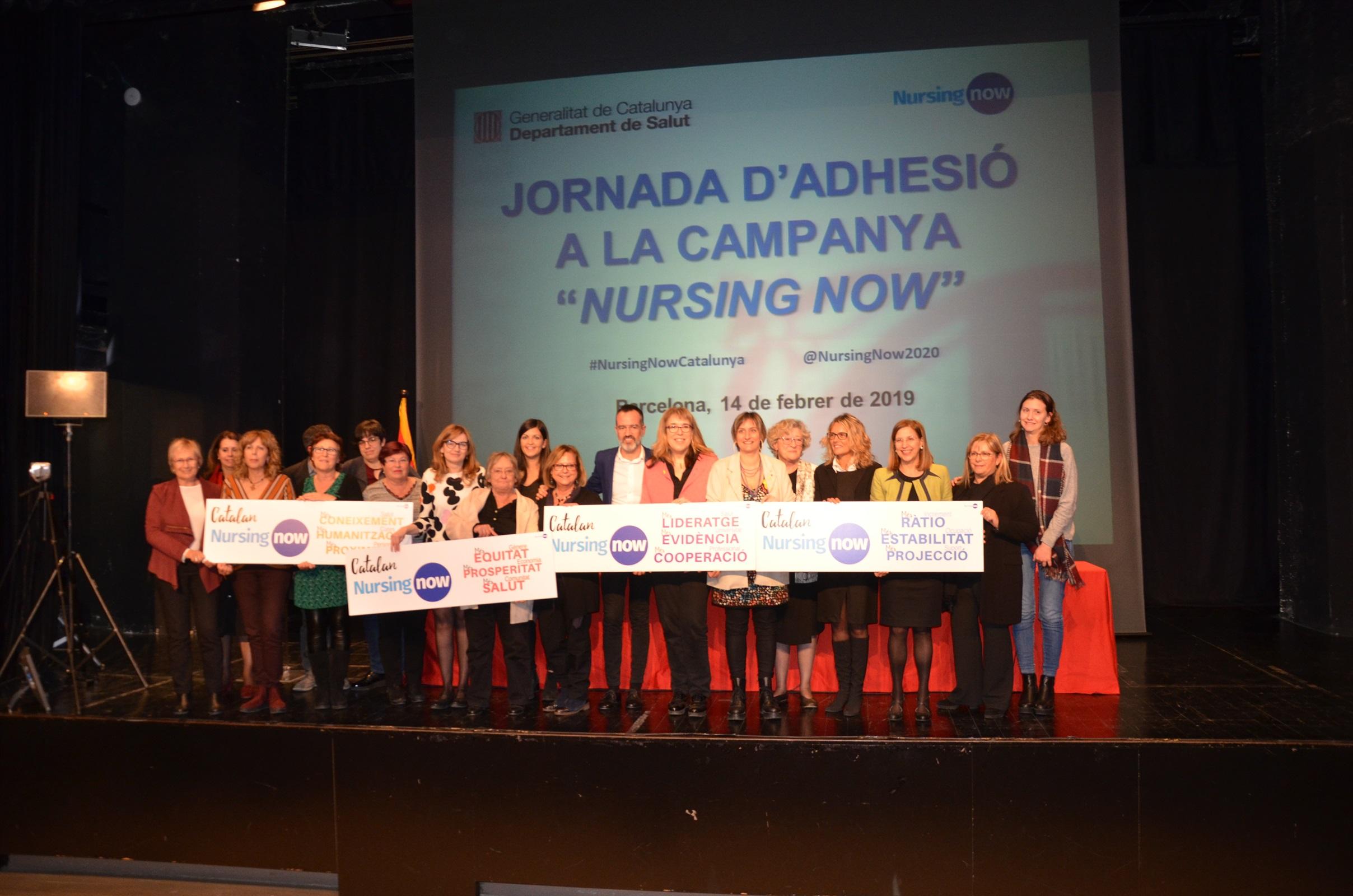 Catalunya reafirma el compromís amb la professió infermera adherint-se a la campanya global Nursing Now