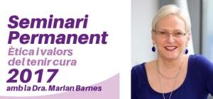 Marian Barnes, sociòloga i politòloga social d'ampli prestigi internacional visita Barcelona