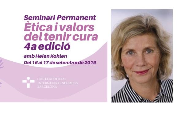 La investigadora Helen Kohlen, referent en bioètica i ètica de la cura en entorns hospitalaris, visita Barcelona