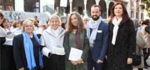 Rosamaría Alberdi, primera infermera espanyola guardonada amb el títol de Doctora honoris causa