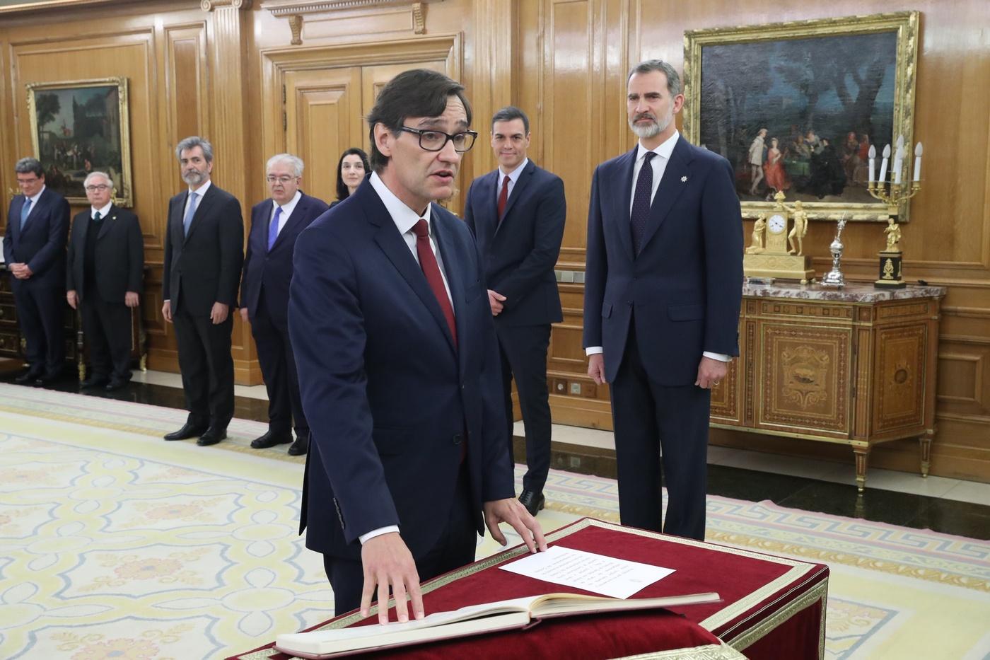 Salvador Illa, nou Ministre de Sanitat