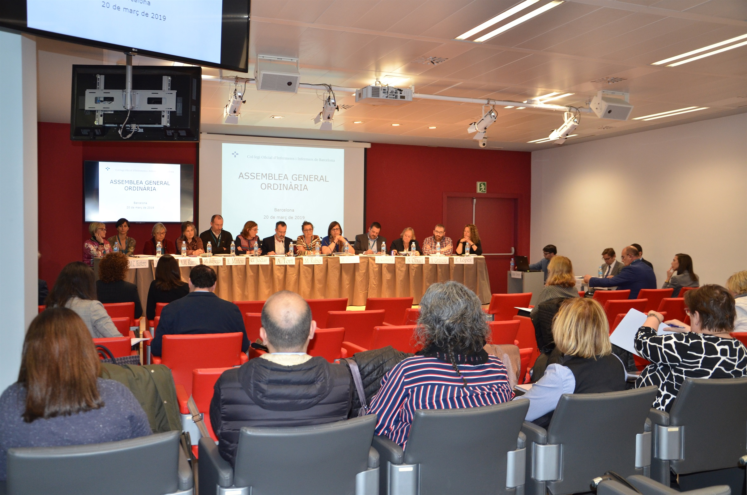 L'assemblea del COIB aprova els pressupostos del 2019 i el tancament de l'exercici 2018