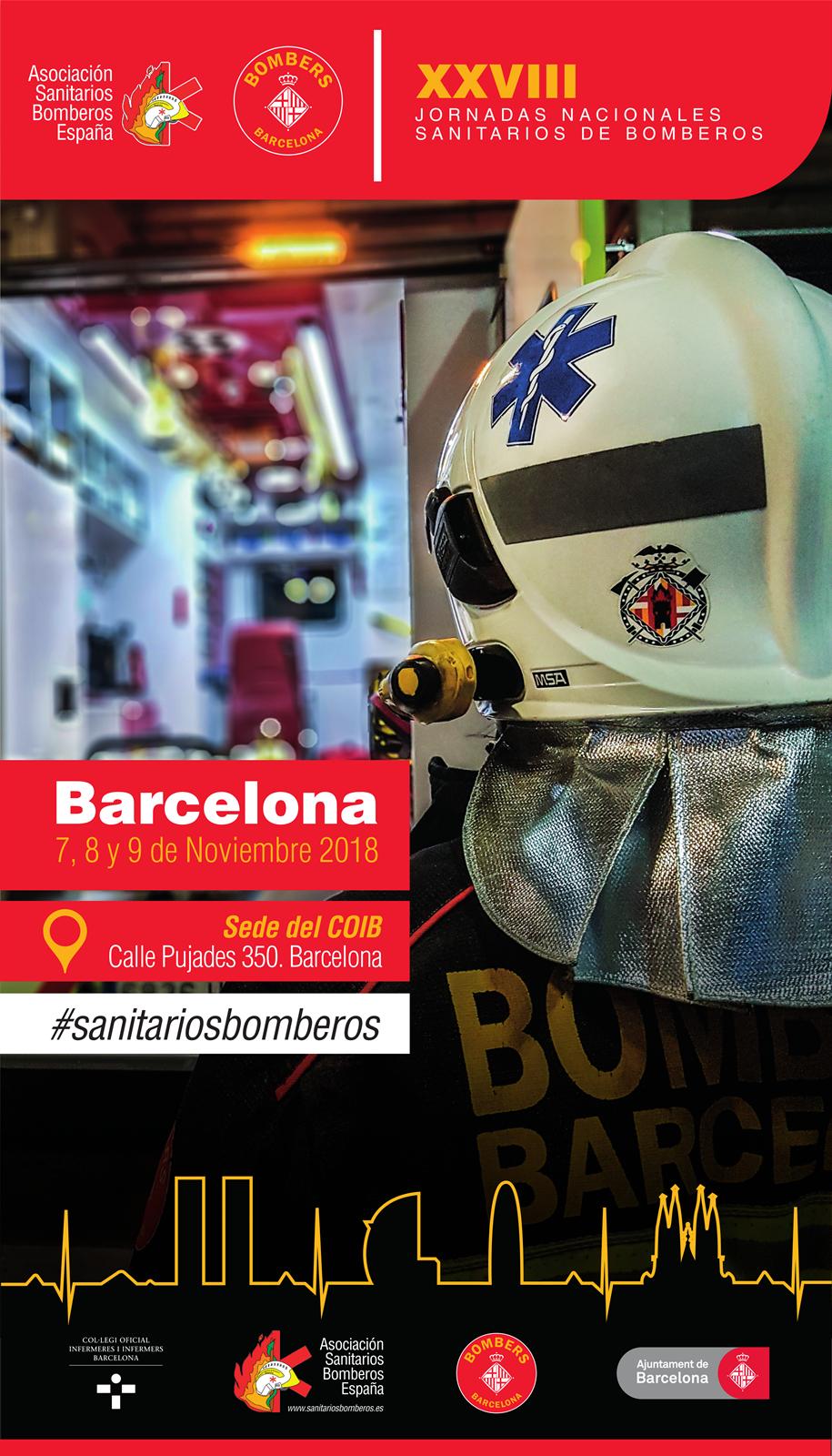 Barcelona acull les 28es Jornades nacionals de sanitaris bombers
