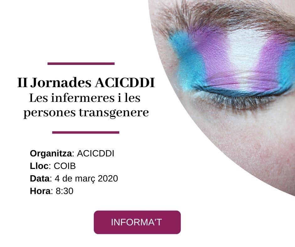 Jornada de l'ACICDDI: les infermeres i les persones transgènere