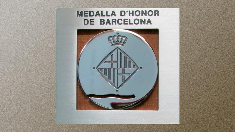 L'Ajuntament de Barcelona concedeix al COIB la Medalla d'Honor de la ciutat