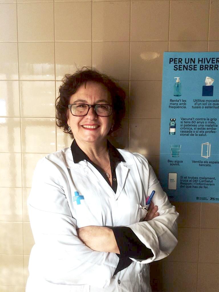 Antonia Raya: «La crisi ha tret a la llum la importància de fer cas a la gent que estem treballant a primera línia»
